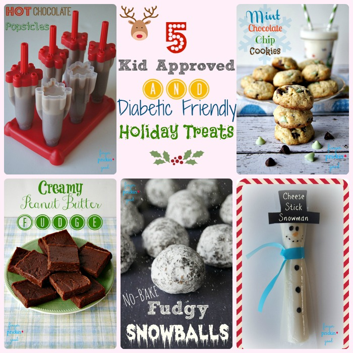 5 Kid Approved & Diabetic Friendly Holiday Treats