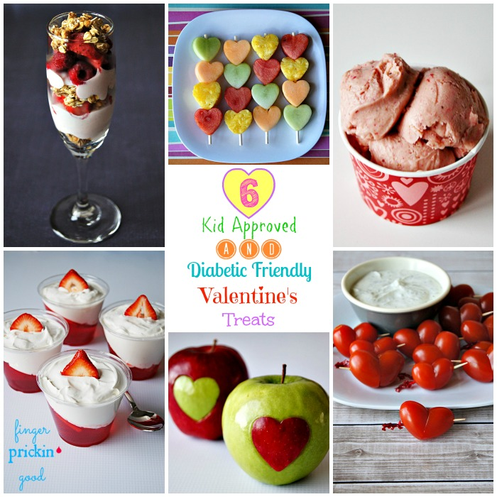 6 Kid Approved & Diabetic Friendly Valentine's Treats