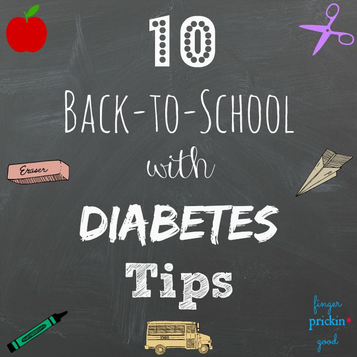 10 Back-to-School with Diabetes Tips