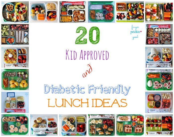 20 Kid Approved & Diabetic Friendly Lunch Ideas