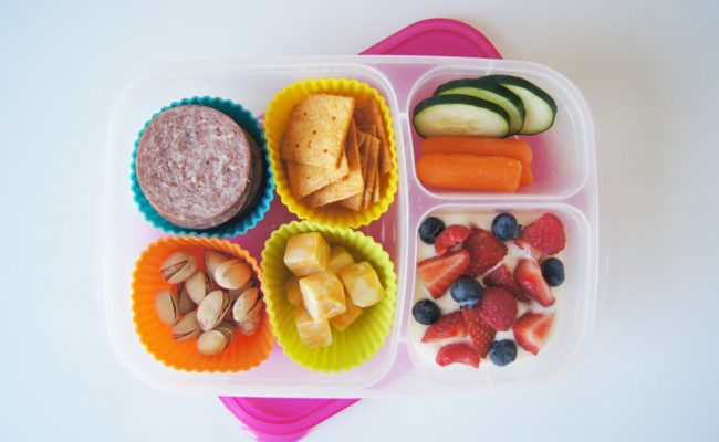 Friday Featured Lunch- Homemade Lunchable
