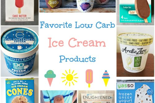 Favorite Ice Cream Products