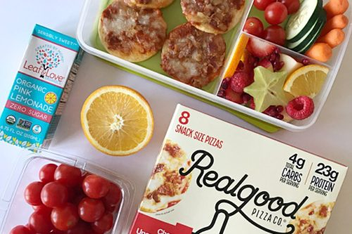 Friday Featured Lunch- Real Good Foods Snack Size Pizzas