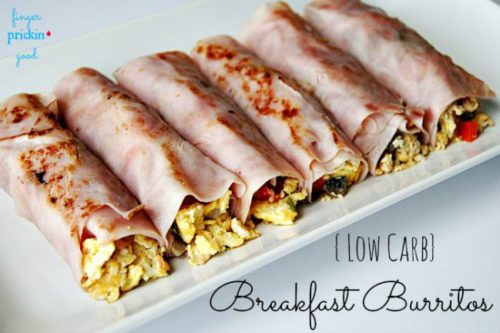 Low Carb Breakfast Burritos